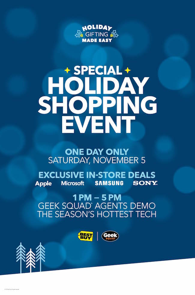Don't Miss The Best Buy Special One Day Holiday Shopping Event! #GiftingMadeEasy