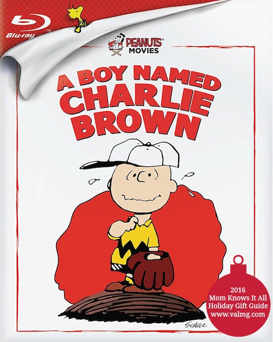 2016 Mom Knows It All HOLIDAY GIFT GUIDE - Peanuts: A Boy Named Charlie Brown Blu-ray