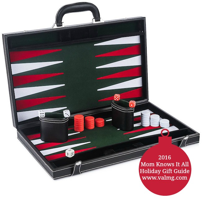 2016 Mom Knows It All HOLIDAY GIFT GUIDE - GrowUpSmart Smart Tactics Backgammon
