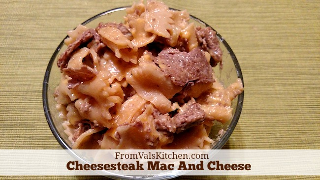 Easy Cheesesteak Mac And Cheese Recipe From Val's Kitchen