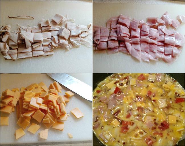 Gluten-free Club Frittata #Recipe