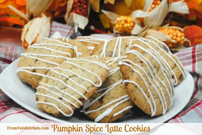 Pumpkin Spice Latte Cookies Recipe From Val's Kitchen