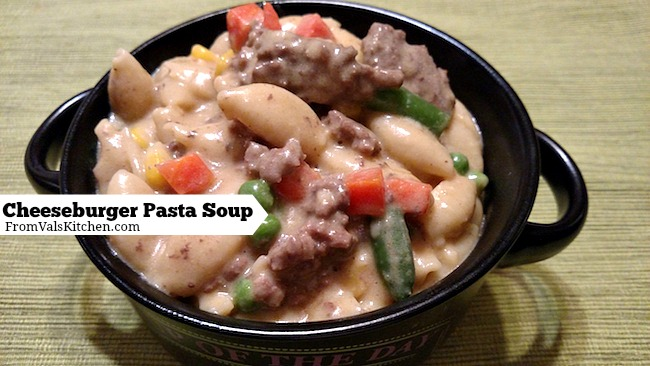 One-Pot Cheeseburger Pasta Soup Recipe For Ninja 3-in-1 Cooking System