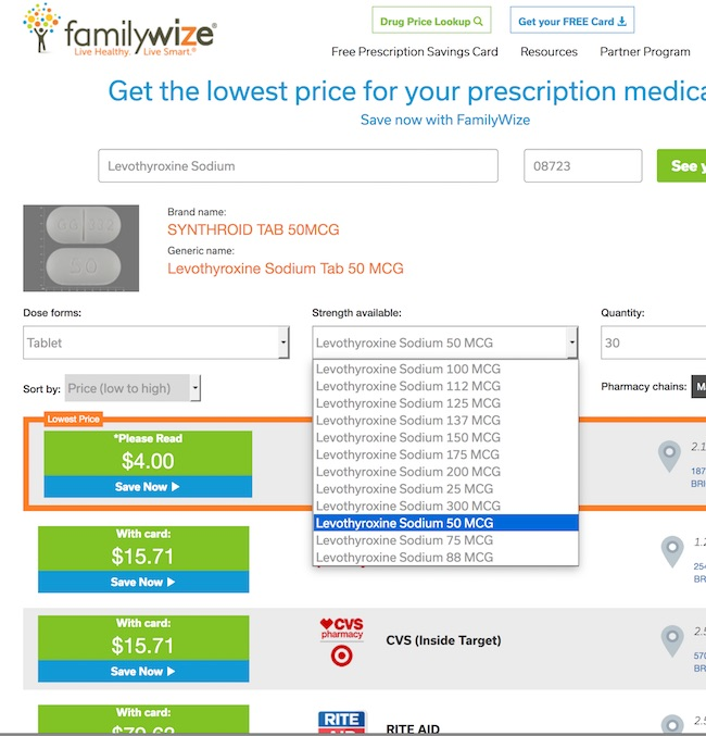 Find Lower Prescription Prices And Save Money With Free FamilyWize