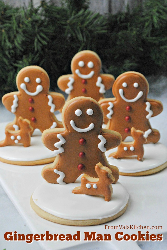 Gingerbread Man Cookies Recipe From Val's Kitchen