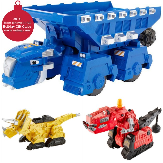 2016 Mom Knows It All HOLIDAY GIFT GUIDE - Dinotrux Toys