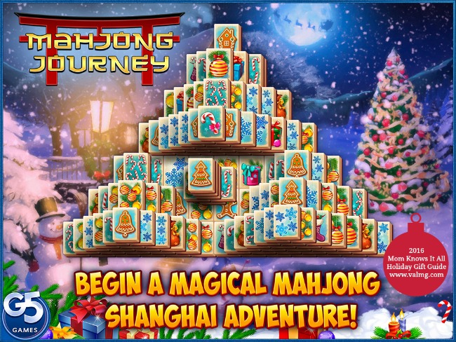 2016 Mom Knows It All HOLIDAY GIFT GUIDE - G5 Games Mahjong Journey
