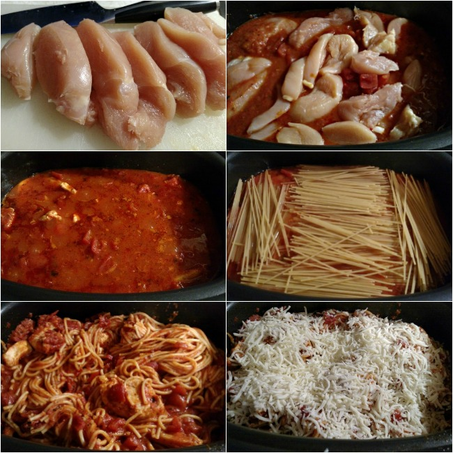 One-Pot Chicken Parm And Spaghetti Recipe For Ninja 3-in-1 Cooking System