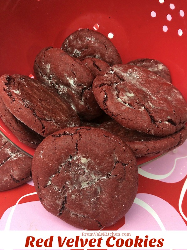 Red Velvet Cookies Recipe From Val's Kitchen