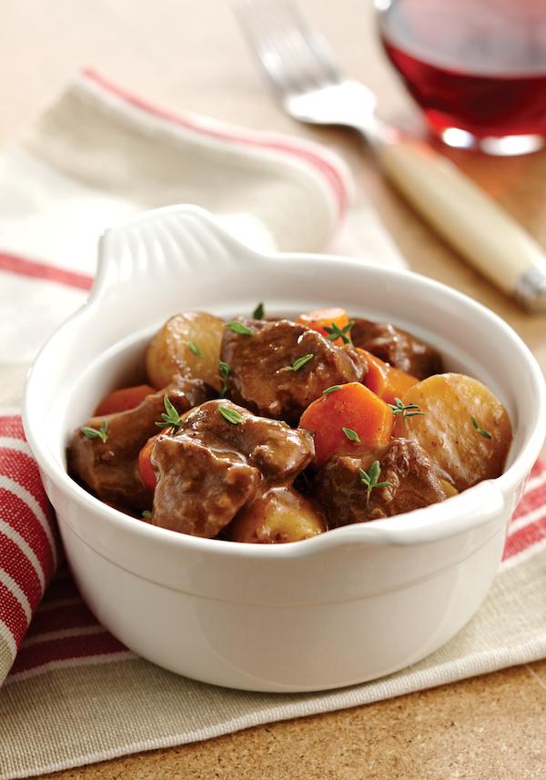 Chuck Wagon Beef Stew Instant Pot recipe
