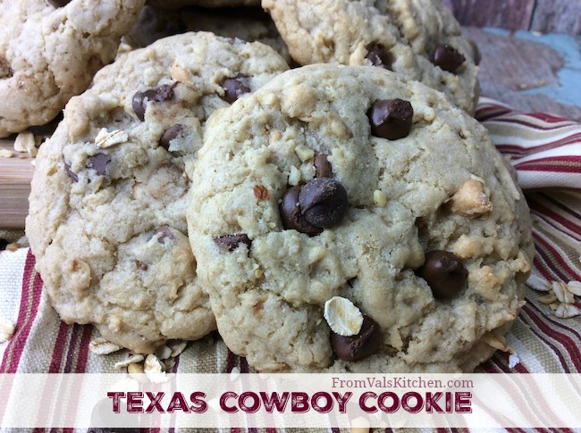 Texas Cowboy Cookies Recipe From Val's Kitchen