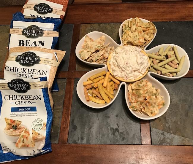 Saffron Road Snacks And Gluten-free Chicken Salad Dip Recipe #MomBlogTourFF