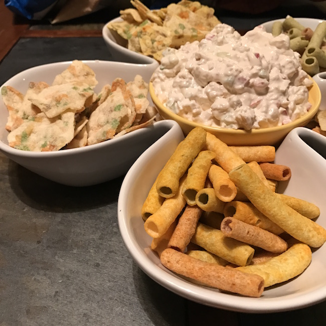 Saffron Road Snacks And Gluten-free Chicken Salad Dip Recipe #MomBlogTourFF