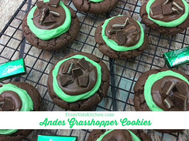 Andes Grasshopper Cookies Recipe From Val's Kitchen