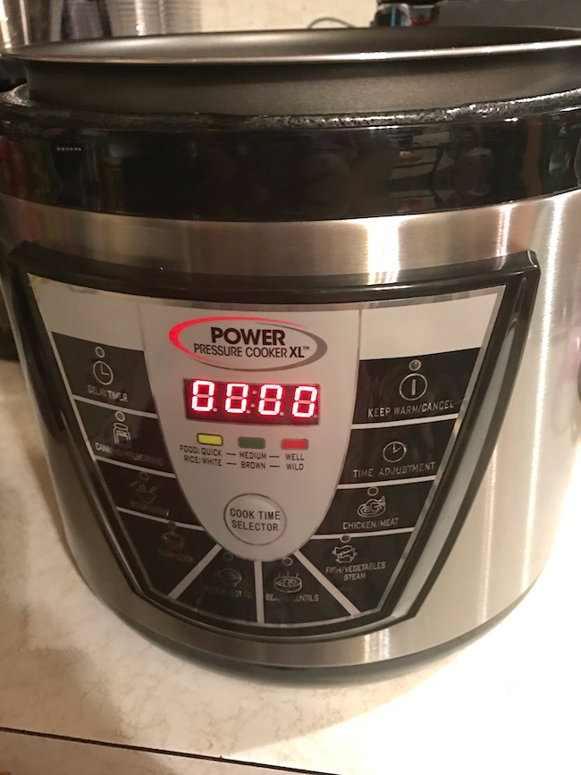 Pressure Cooker Bacon Cheeseburger Pasta Recipe - With Power Pressure Cooker XL Review