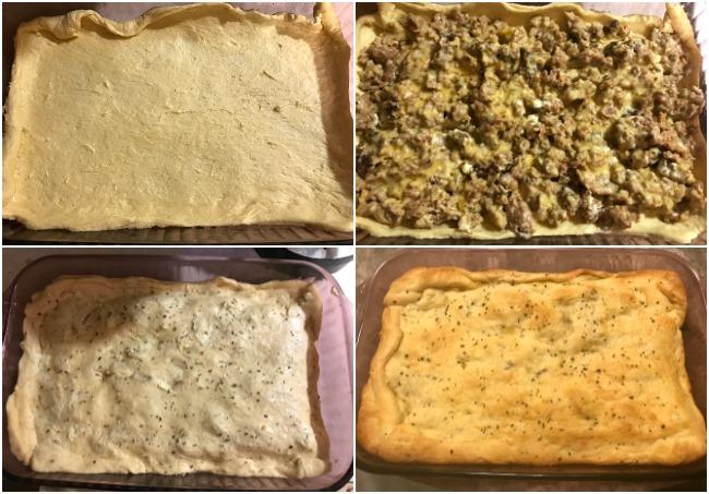 Cheesy Sausage Crescent Casserole Recipe From Val's Kitchen