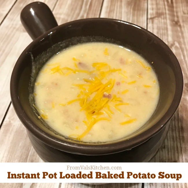 Comforting Potato Soup Recipes: Gluten-free Instant Pot Loaded Baked Potato Soup Recipe