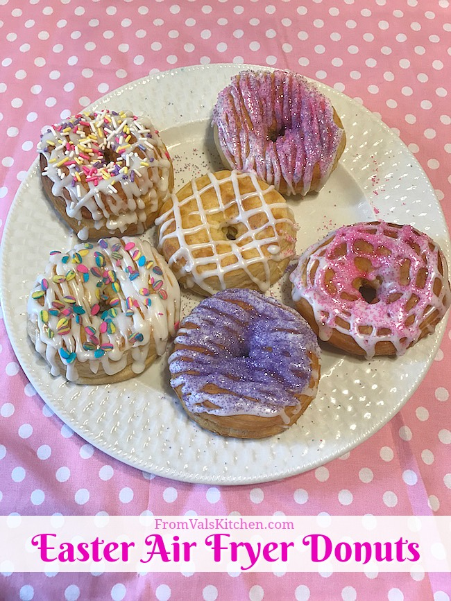 Easter Air Fryer Donuts Recipe - Simple Living 5L XL Air Fryer Review