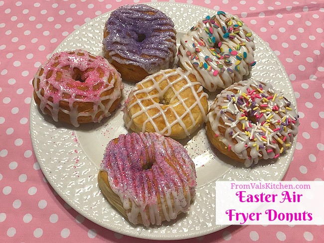 easter air fryer donuts recipe  simple living 5l xl air fryer review  from val's kitchen