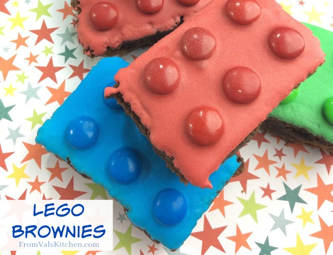 Lego Brownies Recipe From Val's Kitchen