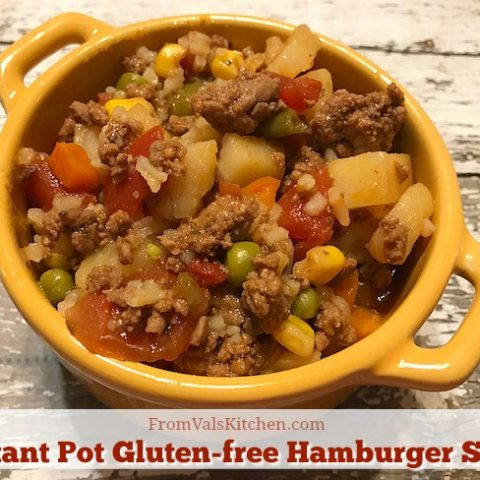 Instant Pot Gluten-free Hamburger Stew Recipe From Val's Kitchen