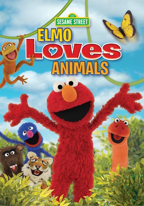 Sesame Street: Elmo Loves Animals DVD
