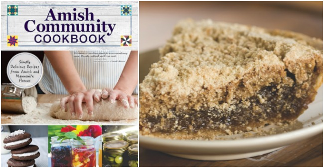 Amish Community Cookbook And Dry Bottom Shoofly Pie Recipe
