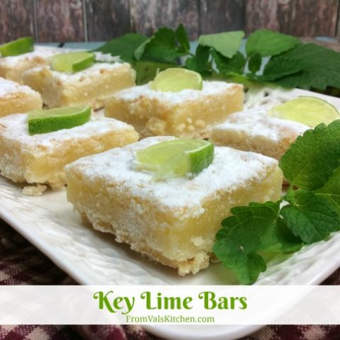 Key Lime Bars Recipe From Val's Kitchen
