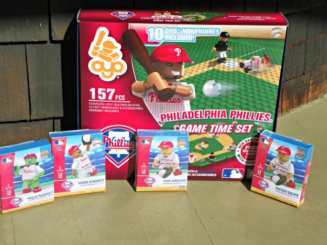 Review: OYO Sports-Sports Themed Mini Figures, Buildable Play Sets and Customizable MLB Mini Figures