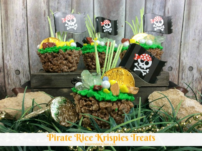 Pirate Rice Krispies Treats Recipe From Val's Kitchen