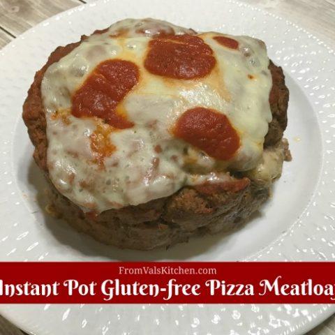 Gluten-free Instant Pot Pizza Meatloaf