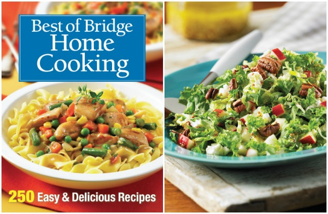 Best Of Bridge: Home Cooking Cookbook - With Kale and Brussels Sprout Slaw Recipe
