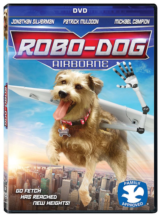 DVD REVIEW - Robo-Dog: Airborne