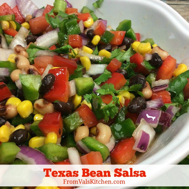 Texas Bean Salsa Recipe From Val's Kitchen