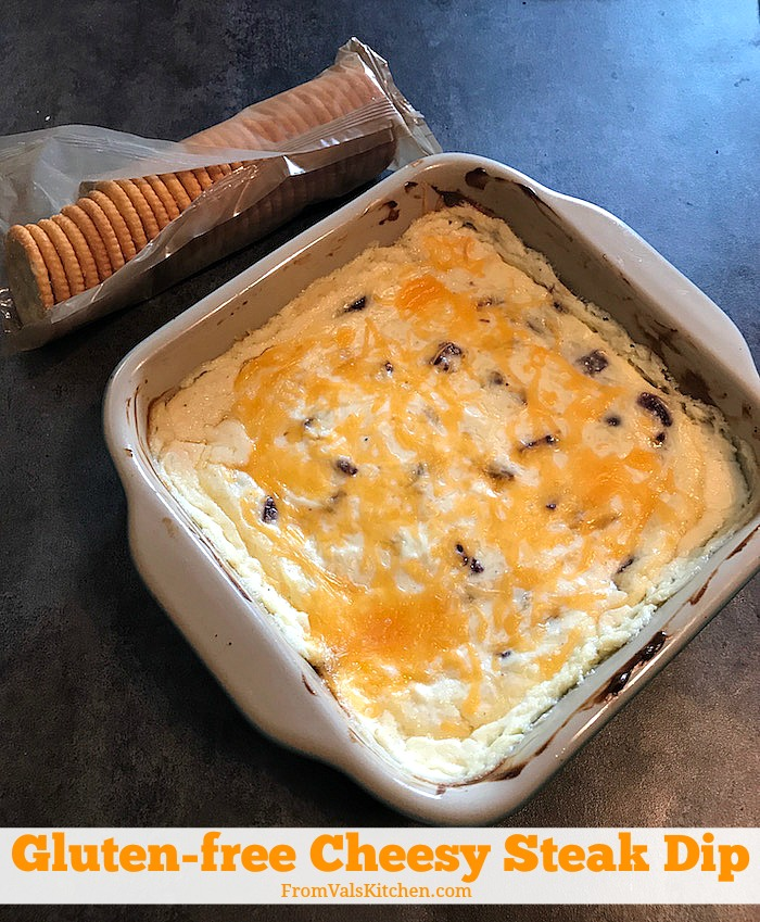 Gluten-free Cheesy Steak Dip Recipe From Val's Kitchen