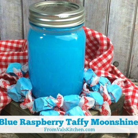 Blue Raspberry Taffy Moonshine