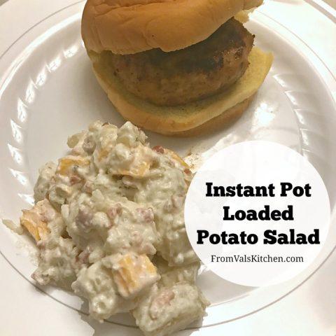 Instant Pot Loaded Potato Salad