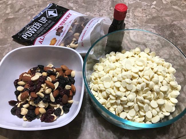 Gluten-free Trail Mix White Fudge Recipe From Val's Kitchen