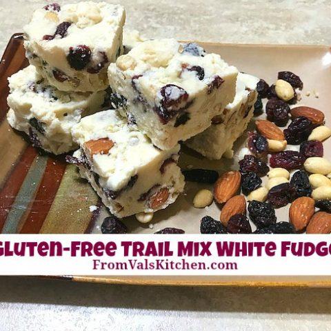 Gluten-free Trail Mix White Fudge