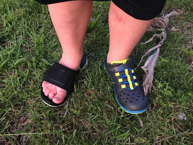 Mom Knows It All REVIEW - Stride Rite Kids Made2Play Phibian Shoes