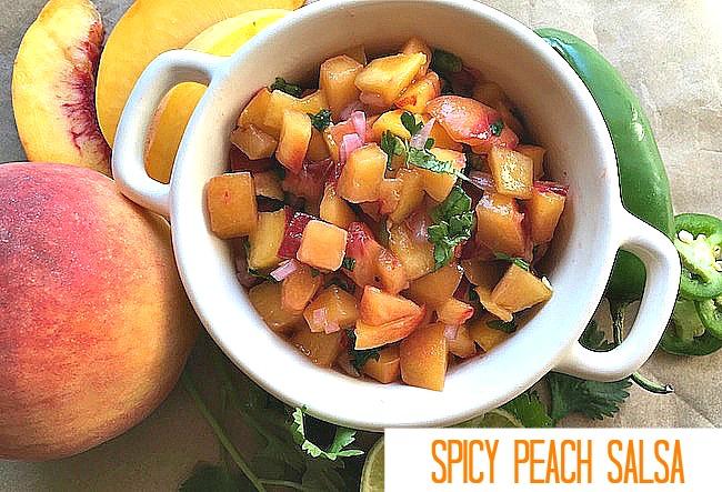 Spicy Peach Salsa Recipe From Val's Kitchen