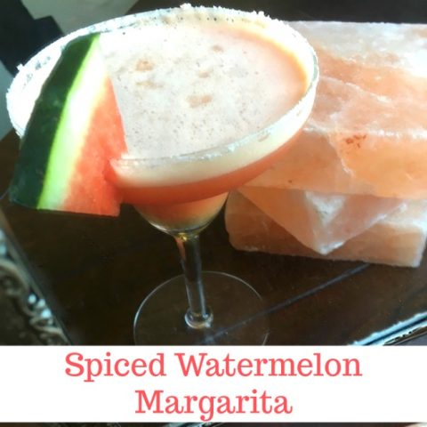 Spiced Watermelon Margarita