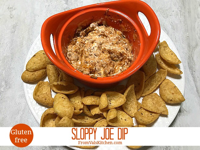 Gluten-free Sloppy Joe Dip Recipe From Val's Kitchen