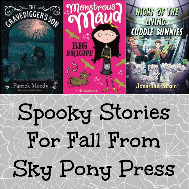 Spooky Stories For Fall 2017 From Sky Pony Press