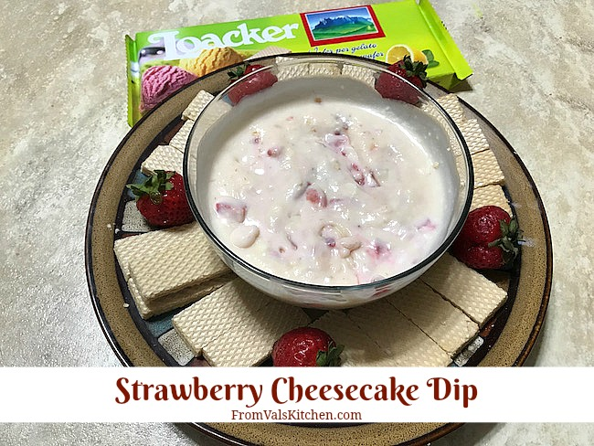 Strawberry Cheesecake Dip Recipe From Val's Kitchen