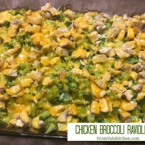 Chicken Broccoli Ravioli Bake Recipe From Val's Kitchen