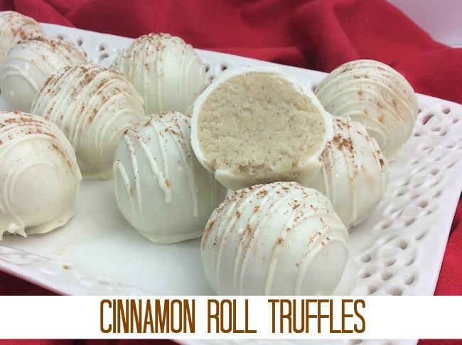Cinnamon Roll Truffles Recipe From Val's Kitchen