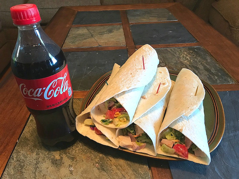 Easy Club Ranch Wraps And Win A Trip To 2017 NYC Wine & Food Festival #CookingwithCoke