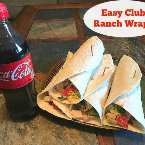 Easy Club Ranch Wraps