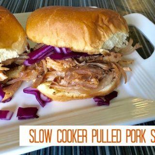 Slow Cooker Pulled BBQ Pork Sliders Recipe